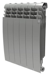 Радиатор биметаллический Royal Thermo BiLiner 500 6 секций цвет silver satin - фото 10108