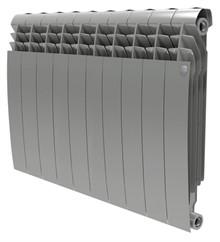 Радиатор биметаллический Royal Thermo BiLiner 500 10 секций silver satin - фото 10117