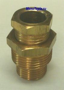 Муфта для ввода саморегулирующегося кабеля в трубу - фото 5964