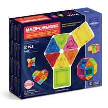 Магнитный конструктор MAGFORMERS 714002 Window Basic 30 set - фото 7944