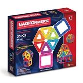 Магнитный конструктор MAGFORMERS 63076/701005 Набор Rainbow 30