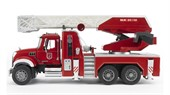Пожарная машина MACK с выдвижной лестницей и помпой Bruder 02-821